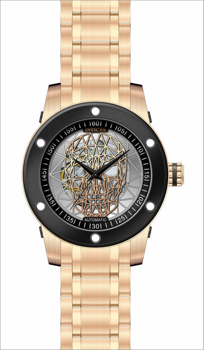 Invicta Men's 27618 Speedway Automatic 3 Hand Silver, Rose Gold Dial Watch