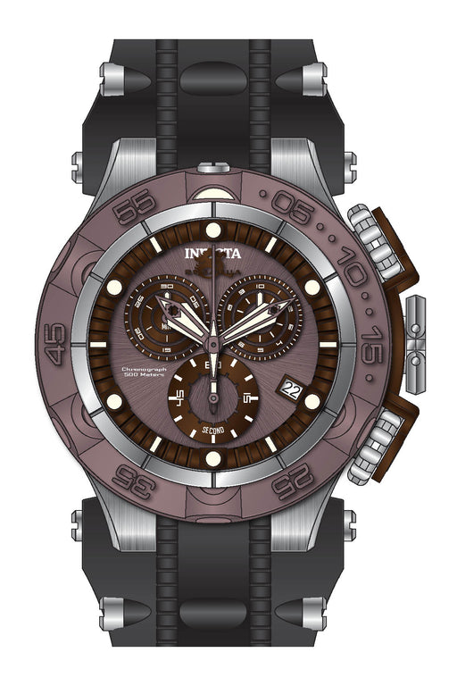 Invicta Men's 27685 Subaqua Quartz Chronograph Brown, Light Brown Dial Watch