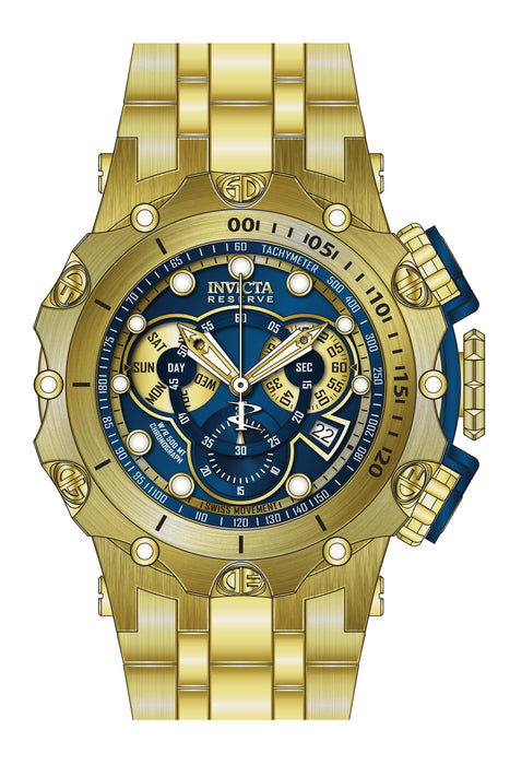 Invicta Men's 27791 Reserve Quartz Chronograph Blue Dial Watch
