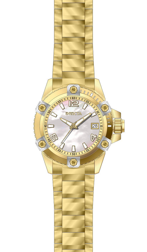 Invicta Women's 27882 Pro Diver Quartz 3 Hand White Dial Watch