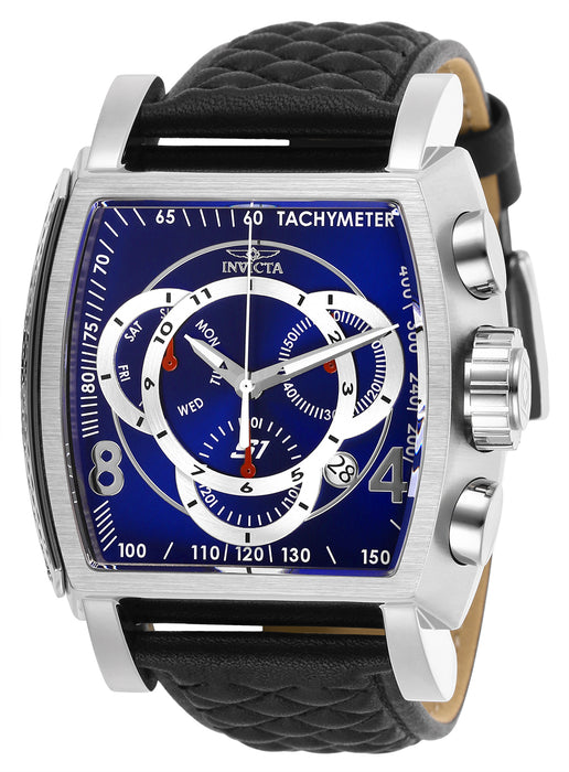 Invicta Men's 27920 S1 Rally Quartz Multifunction Blue, Silver Dial Watch