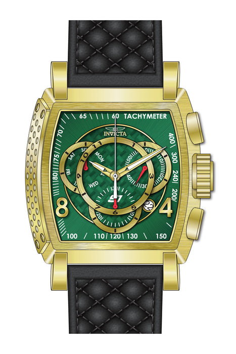 Invicta Men's 27929 S1 Rally Quartz Multifunction Green Dial Watch