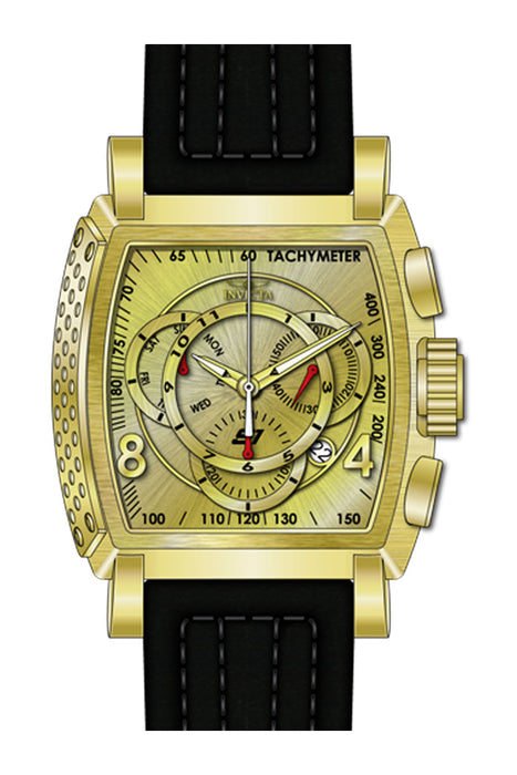 Invicta Men's 27949 S1 Rally Quartz Multifunction Gold Dial Watch