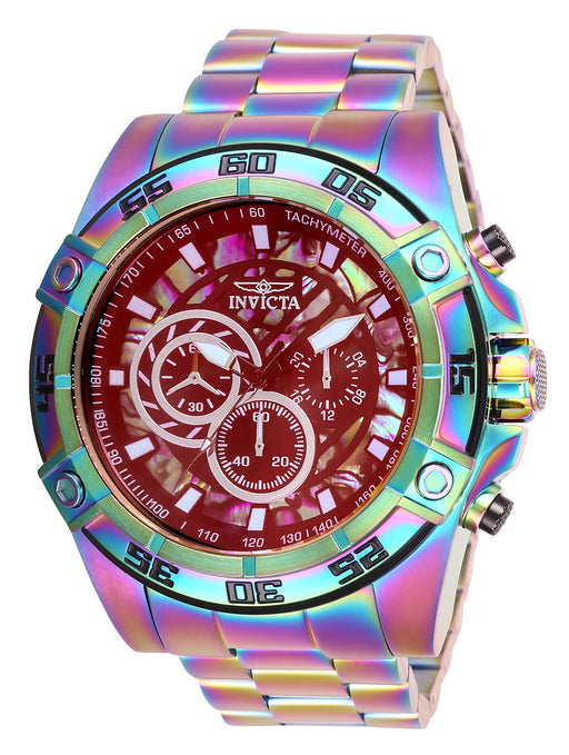 Invicta Men's 28023 Speedway Quartz Chronograph Rainbow Dial Watch