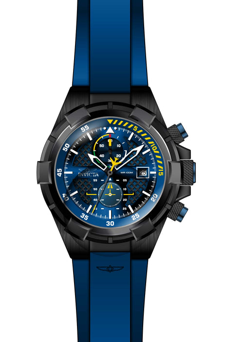 Invicta Men's 28092 Aviator Quartz Multifunction Blue Dial Watch