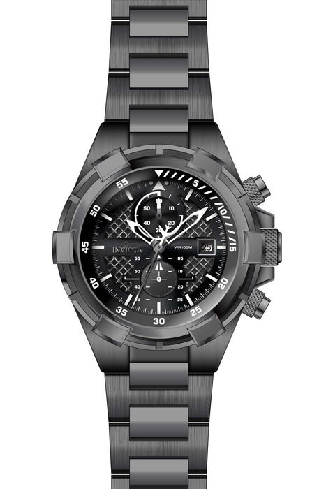 Invicta Men's 28109 Aviator Quartz Chronograph Black Dial Watch