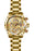 Invicta Men's 28161 Aviator Quartz Multifunction Gold Dial Watch