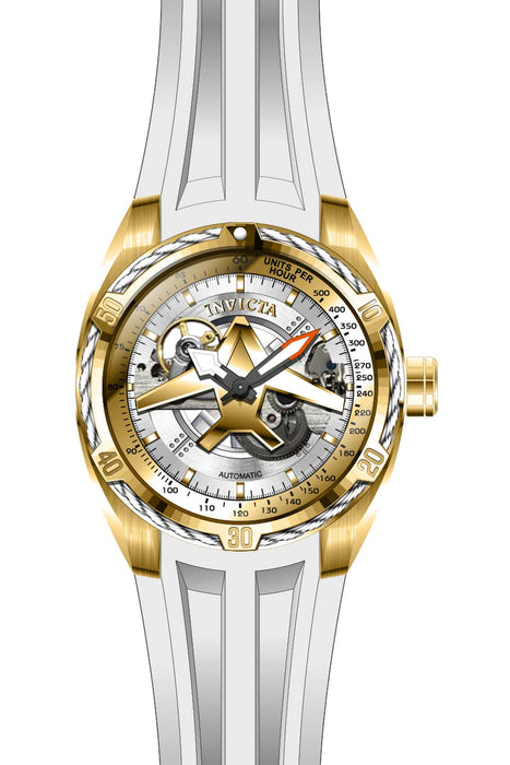 Invicta Men's 28173 Aviator Automatic Multifunction Gold Dial Watch