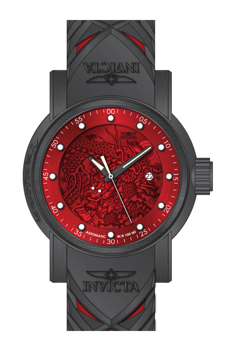 Invicta Men's 28184 S1 Rally Automatic 3 Hand Red Dial Watch