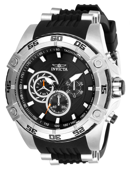 Invicta Men's 28227 Speedway Quartz Chronograph Black Dial Watch