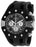 Invicta Men's 28565 S1 Rally Quartz 3 Hand Black, White Dial Watch