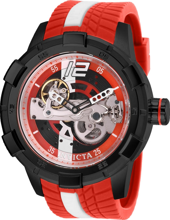 Invicta Men's 28590 S1 Rally Automatic Multifunction Red, Black Dial Watch