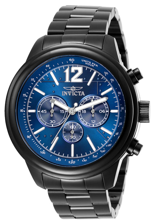 Invicta Men's 28902 Aviator Quartz Chronograph Blue Dial Watch