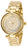 Invicta Lady 28927 Bolt Quartz 3 Hand Gold Dial Watch