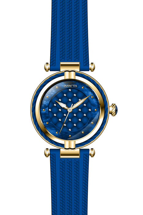 Invicta Lady 28945 Bolt Quartz 3 Hand Blue Dial Watch