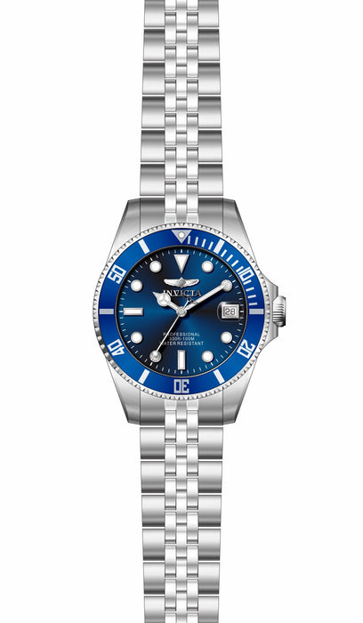Invicta Women's 29187 Pro Diver Quartz 3 Hand Blue Dial Watch