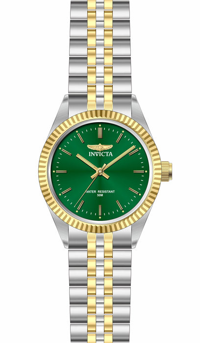 Invicta Men's 29379 Specialty Quartz 3 Hand Green Dial Watch