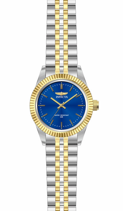 Invicta Lady 29403 Specialty Quartz 3 Hand Blue Dial Watch