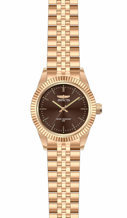 Invicta Lady 29416 Specialty Quartz 3 Hand Brown Dial Watch