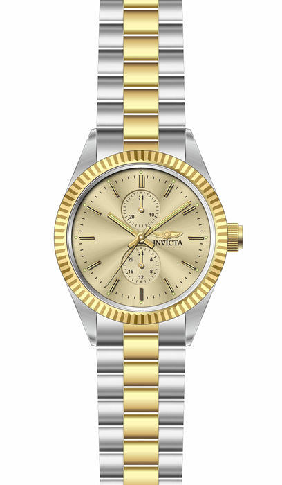 Invicta Men's 29425 Specialty Quartz 3 Hand Champagne Dial Watch