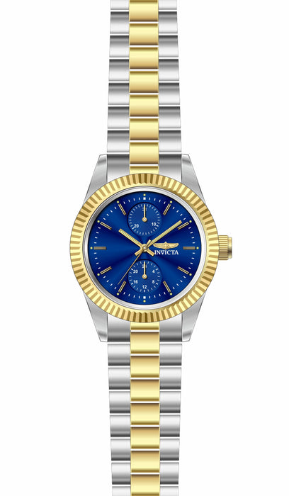 Invicta Lady 29441 Specialty Quartz 3 Hand Blue Dial Watch