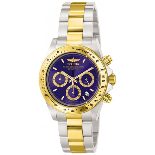 Invicta Men's 3644 Speedway Quartz Chronograph Blue Dial Watch