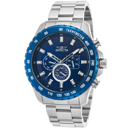 Invicta Men's Speedway Quartz Multifunction Blue Dial Watch 24212