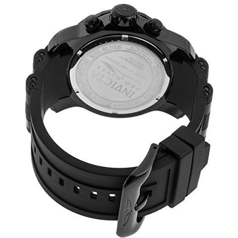 Invicta 21930 Men's Pro Diver Collection Chronograph Black Dial Black Polyurethane Watch