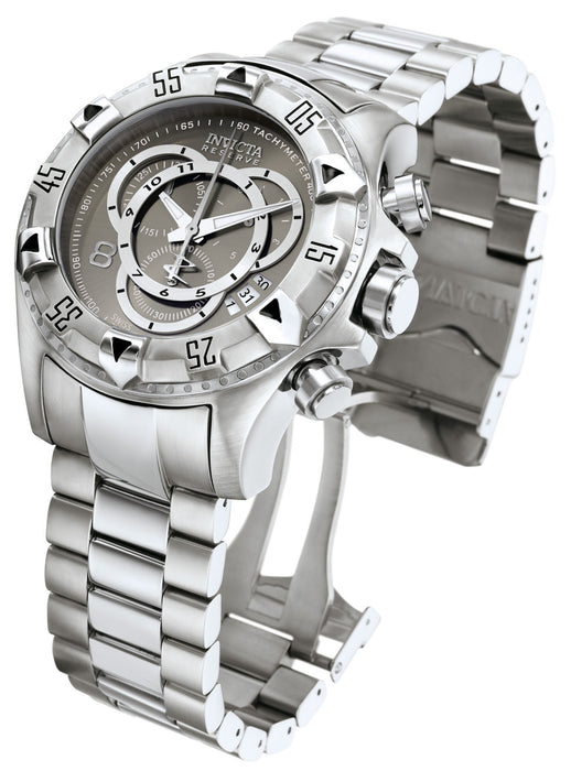Invicta Men's 5524 Excursion Quartz Chronograph Gunmetal Dial Watch
