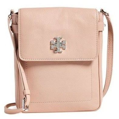 Tory Burch'Mercer' Leather Crossbody Book Bag