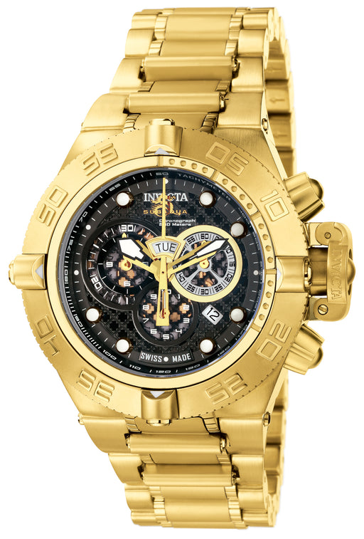 Invicta Men's 6553 Subaqua Quartz Chronograph Black Dial Watch