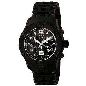 Invicta Men's 6713 Sea Spider Quartz Chronograph Black Dial Watch