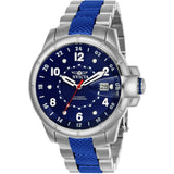 Invicta Men's 7087S Signature Automatic 3 Hand Blue Dial Watch
