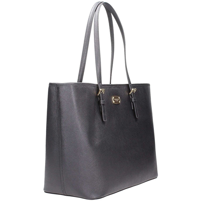 ae2c299c9f33 Michael Kors Jet Set Travel Black Large Carryall Tote (35T6GTVT3L ...