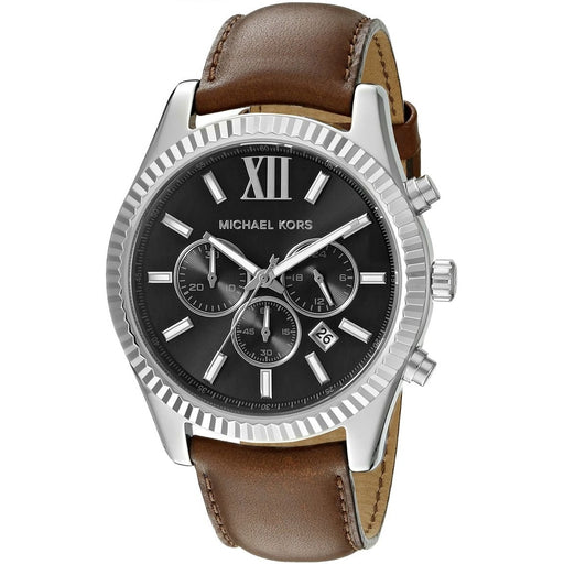 Michael Kors Men's Lexington Brown Watch MK8456
