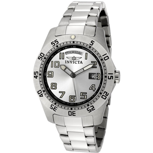 Invicta Men's Pro Diver Stainless Steel Silver Dial Watch 5249S