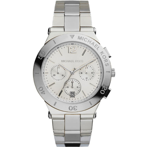Michael Kors MK5932 Wyatt Chronograph Silver Dial Stainless Steel Ladies Watch
