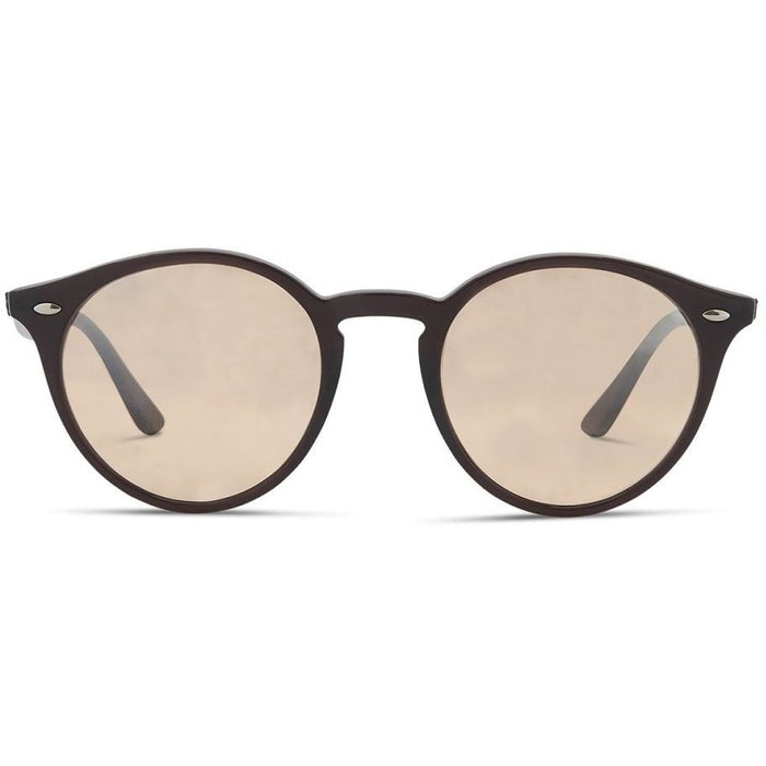 Ray Ban 2180/62313D Brown w Brown Silver Gradient Mirror Lens