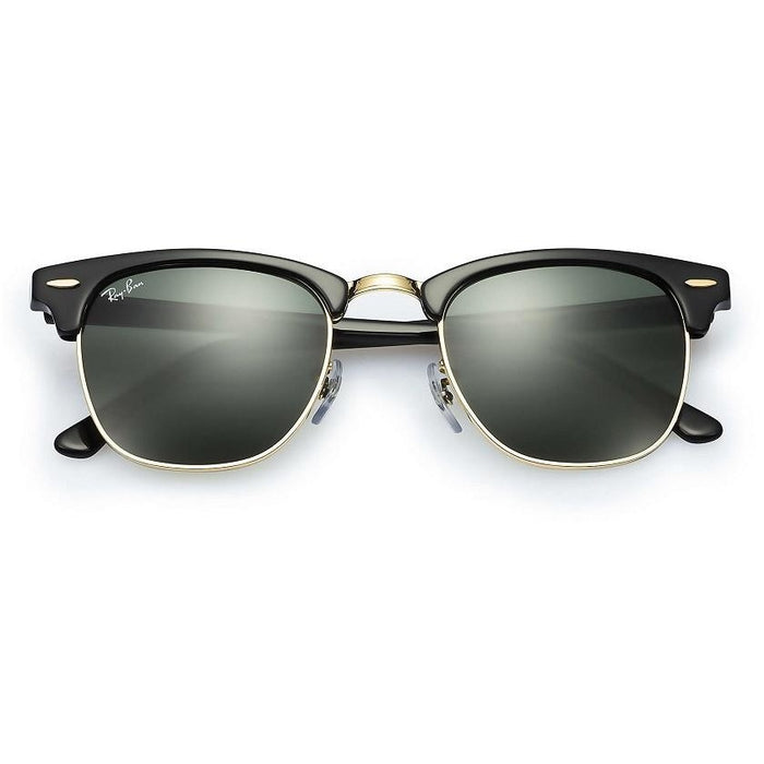 Ray-Ban Clubmaster Classic Black Sunglasses, RB3016/W0365