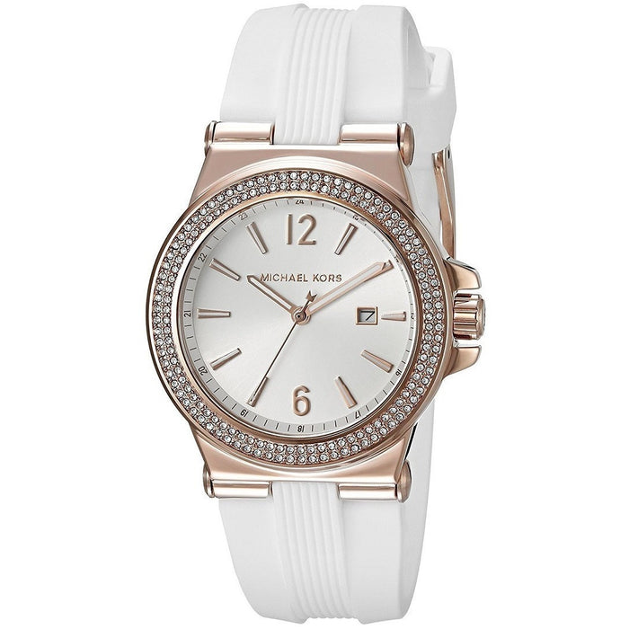 Michael Kors Women's Mini Dylan White Watch MK2491