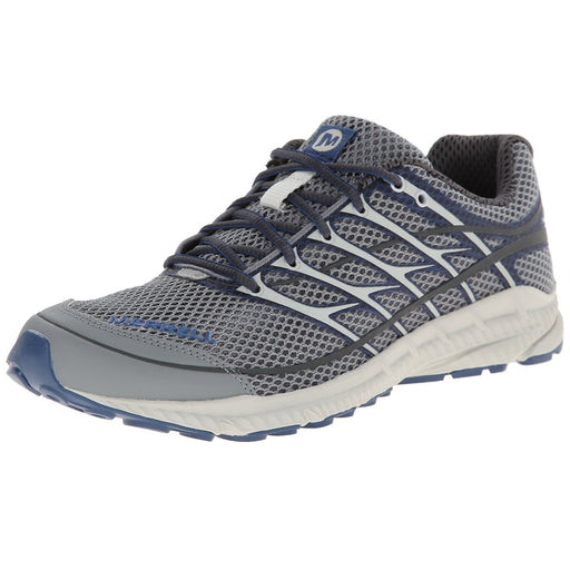 Merrell Men's Mix Master Move 2 Trail Running Shoe, Grey/Tahoe Blue - J01517