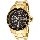 Invicta Men's 15341 Pro Diver 18k Gold-Plated Stainless Steel Watch