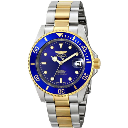 Invicta Men's Pro Diver Automatic 3 Hand Blue Dial Watch 8928OB