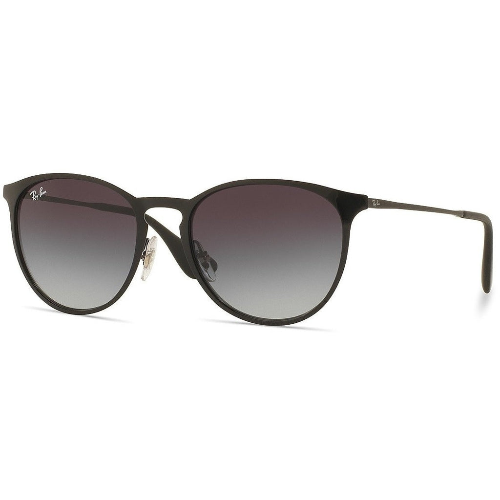 Ray-Ban Erika RB3539/002/T3 54mm Pilot Gradient Sunglasses, Black
