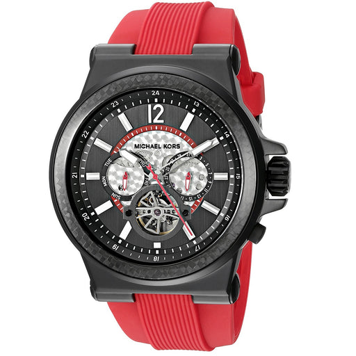 Michael Kors Men's Dylan Red Automatic Watch MK9020