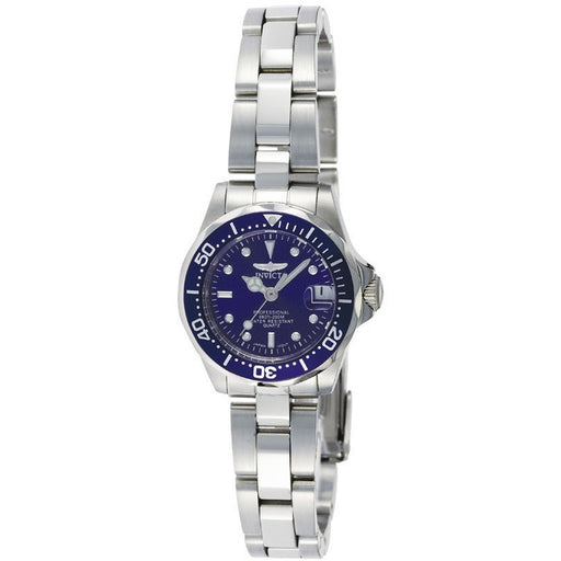 Invicta Women's 9177 Pro Diver Quartz 3 Hand Blue Dial Watch