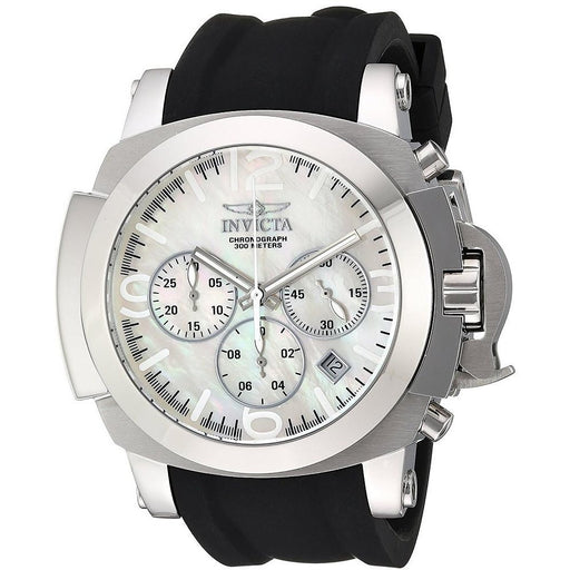 Invicta Men's I-Force Quartz Chronograph White Dial Watch 22275
