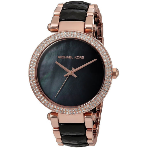 Michael Kors Parker Black Dial Ladies Watch MK6414