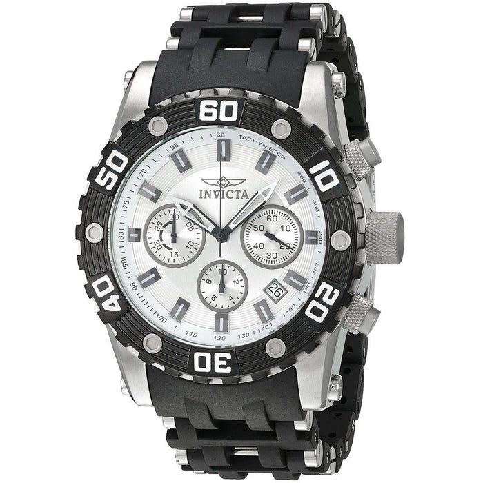 Invicta Men's Sea Spider Analog Quartz Movement Black Watch 22089