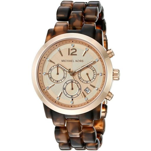 Michael Kors Women's Audrina Brown Watch MK6199